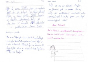 dopisy od deti